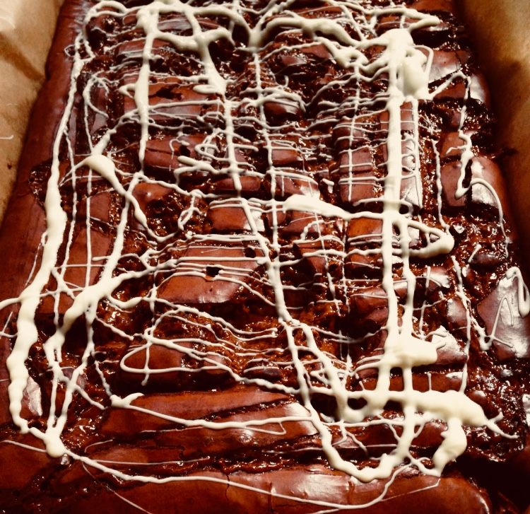 Gooey Caramel Chocolate Brownie Recipe